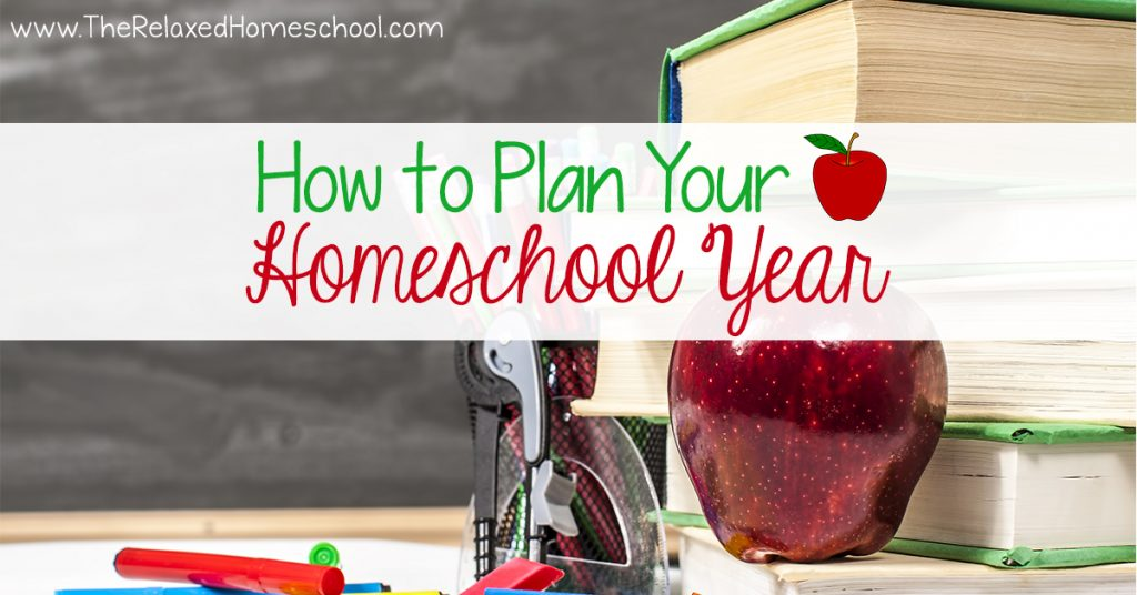 How to Plan Your Homeschool Year FB