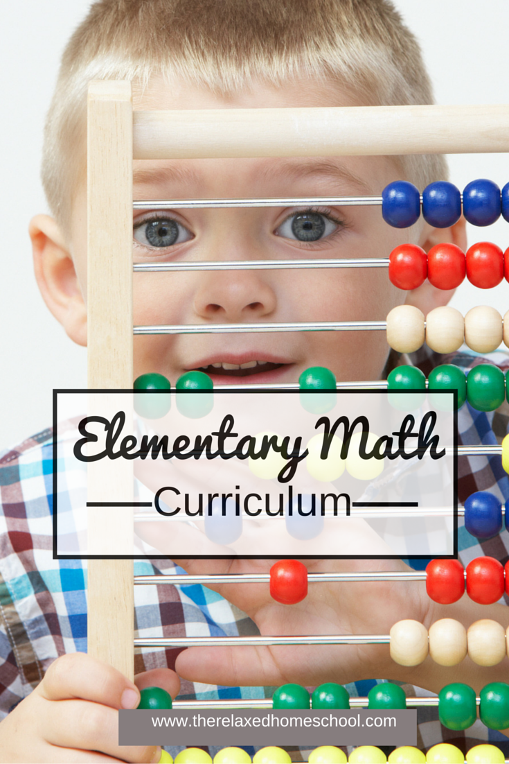 math curriculum  elementary math curriculum choices