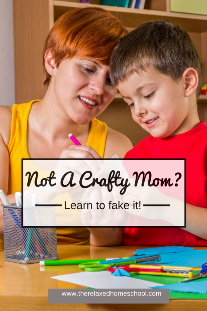 How to fake being crafty! Not crafty? Then this is for you! Kids Crafts | Kids Activities