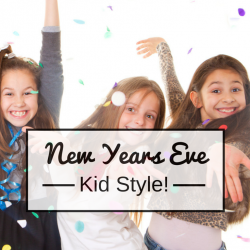 Time to celebrate another New Years! This is a fun way to celebrate with the entire family!
