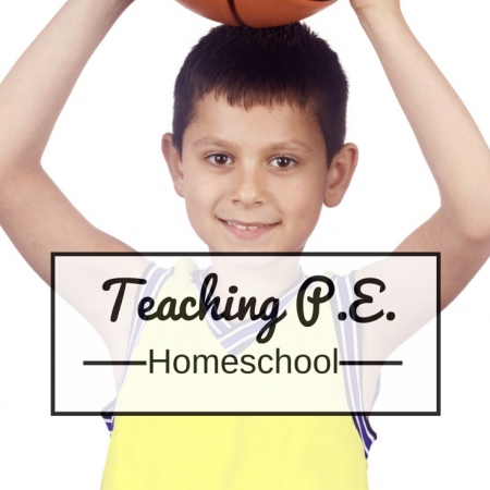 How to teach PE in your homeschool. Simple advice on physical education for your homeschool