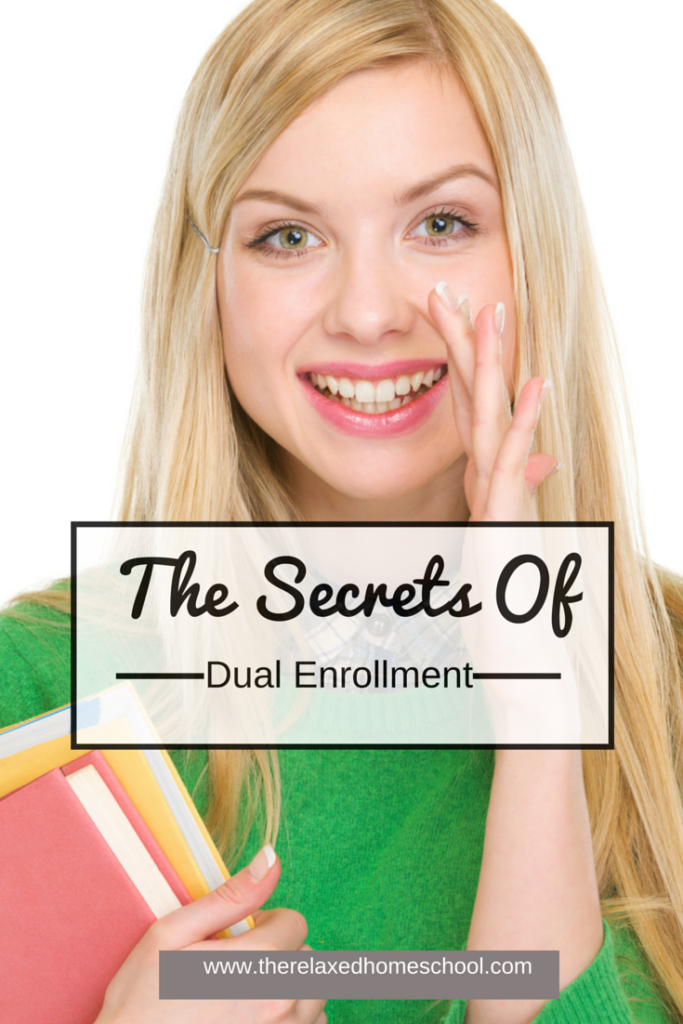 The secrets of dual enrollment! Part 1