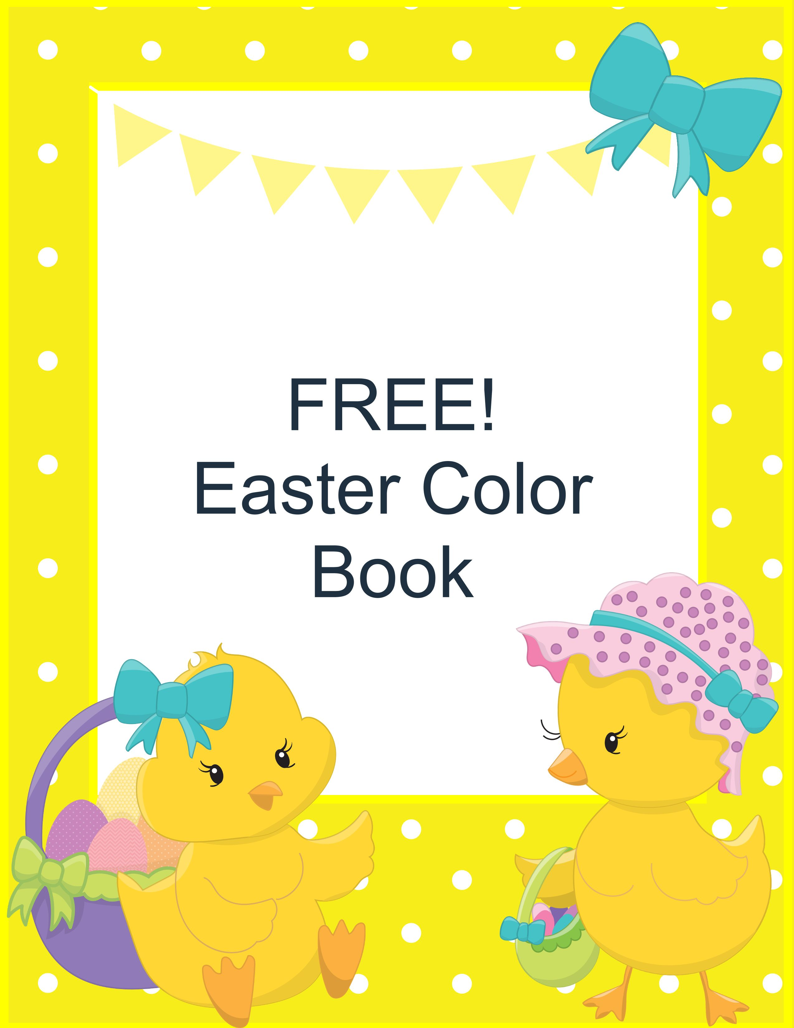 FREE Easter Coloring Book