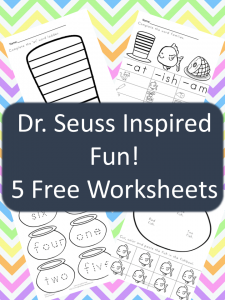 math worksheet : free dr seuss worksheets!  the relaxed homeschool : Dr Seuss Kindergarten Worksheets