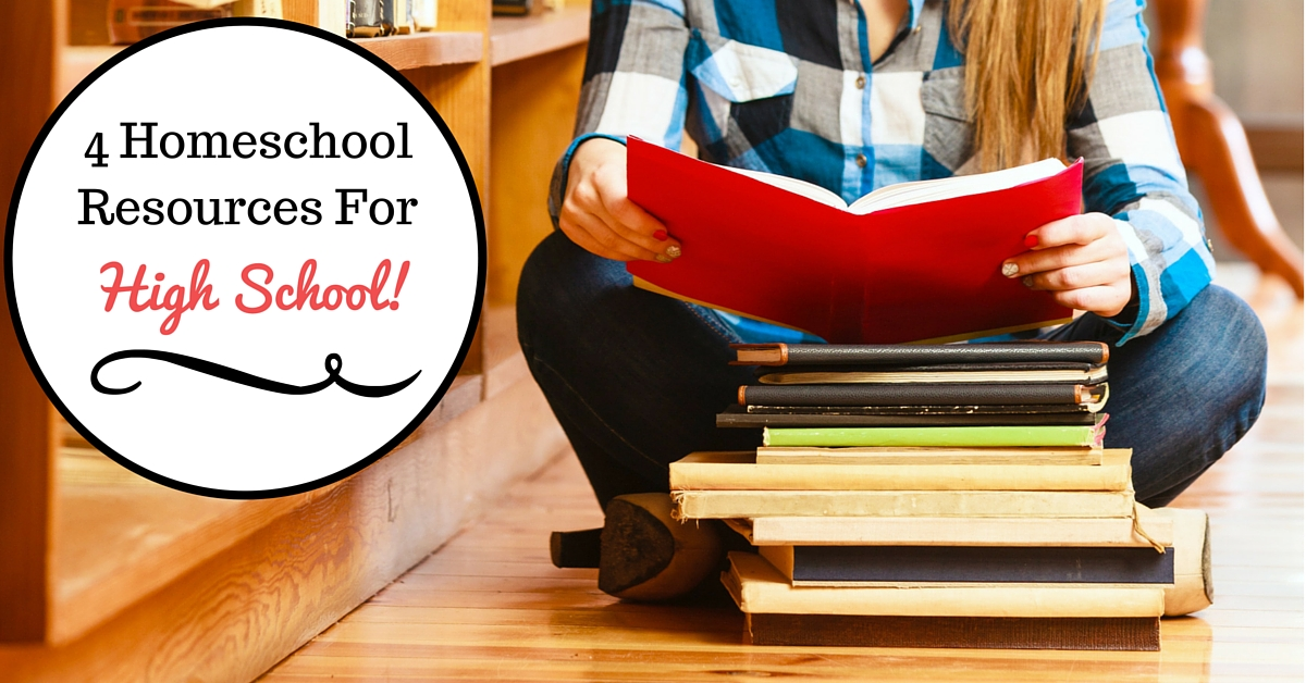 High school resources for homeschoolers and public school