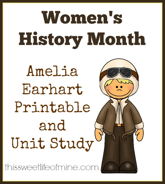 Amelia Earhart Unit Study The Relaxed Homeschool