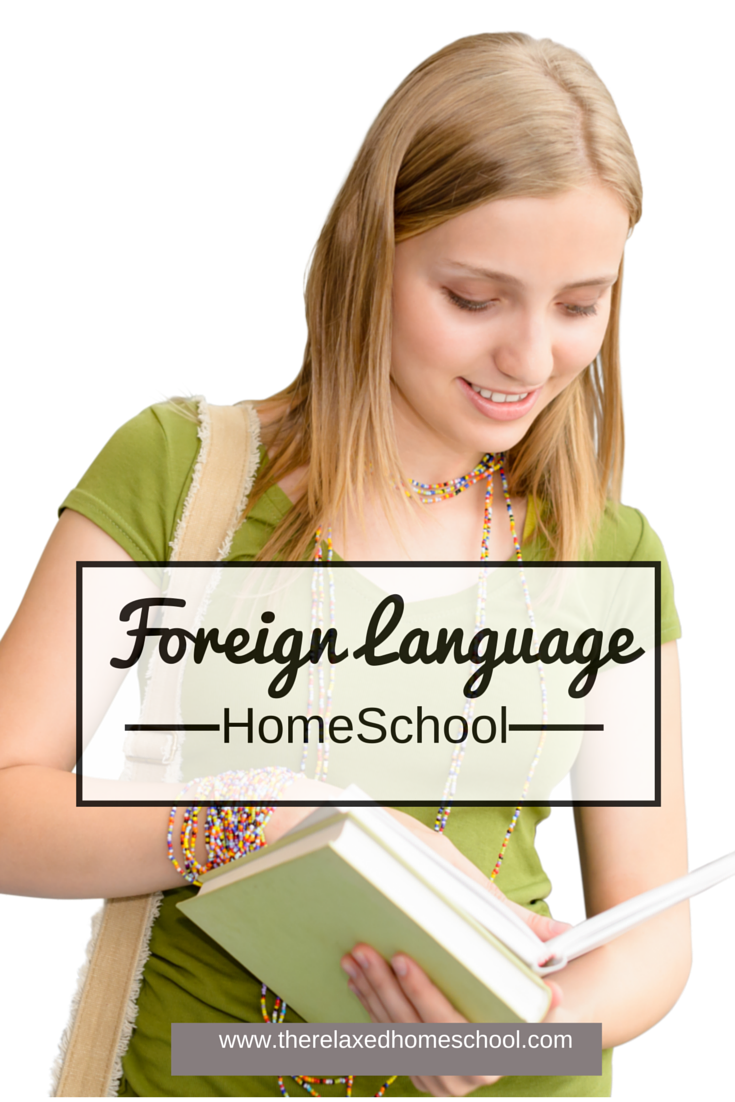 Lean a foreign language while homeschooling!