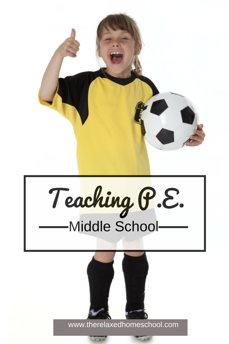 Find out some great ways to incorporate PE into your homeschool!
