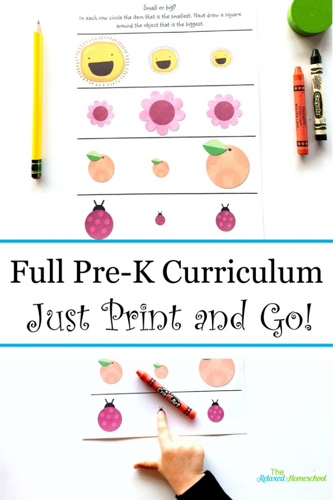 It's just a photo of Ambitious Free Printable Pre K Curriculum