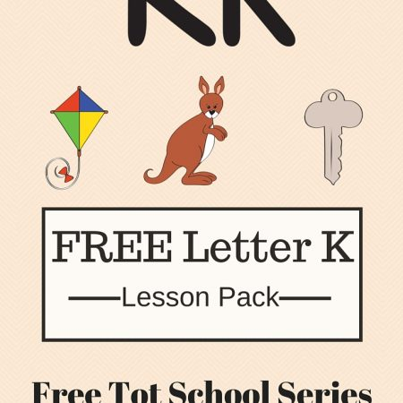 FREE Tot School: Week 4 day 4 is up and ready! Free letter K printable packet!