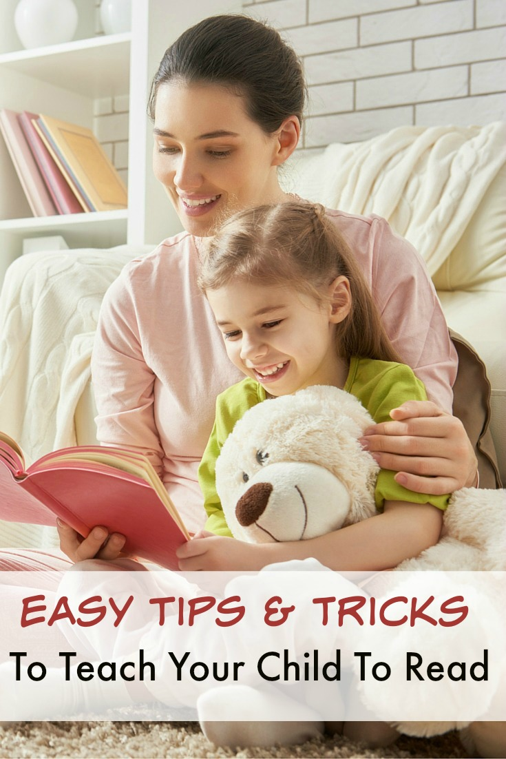 Teach your child how to read with these easy tips and tricks!