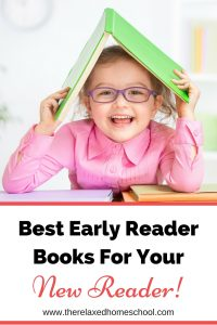 Top early reader books for your new reader! Great selection of beginning level books that will help build reading skills and reading confidence!