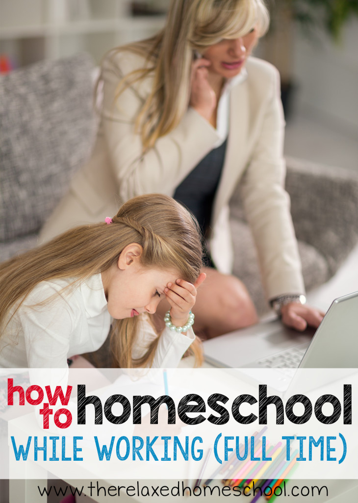 Great post on working OUTSIDE of the home while you are homeschooling your kids! PIN FOR LATER!