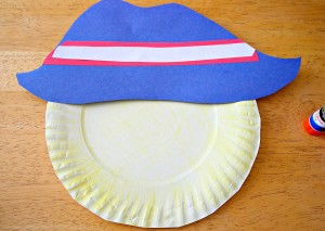 Paper Plate Kid Craft