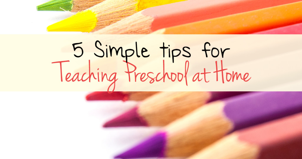 Teaching preschool at home can be simple and fun find out how - Five easy cleaning tips get some time for yourself ...