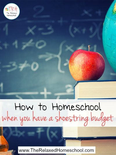 Homeschooling does not have to be expensive! Find out how you can homeschool even on a tight budget!