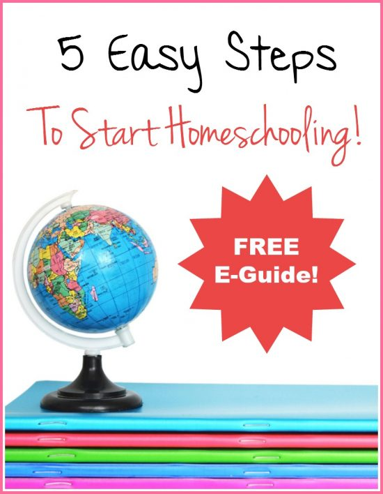 5 Esasy steps to homeschooling