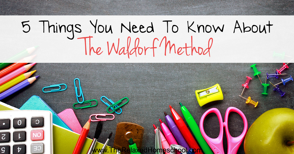 Waldorf method for Things you need for a home