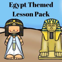 Egypt Themed Lesson Pack