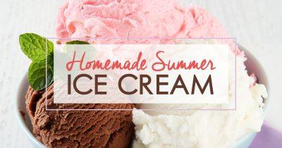 Homemade Summer Ice Cream FB