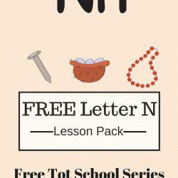 Week 5: Day 3 – Free Tot School