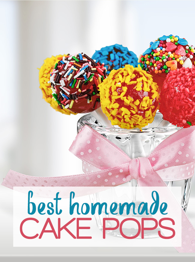 Best Homemade Cake Pops! Fun to make and delicious to eat!
