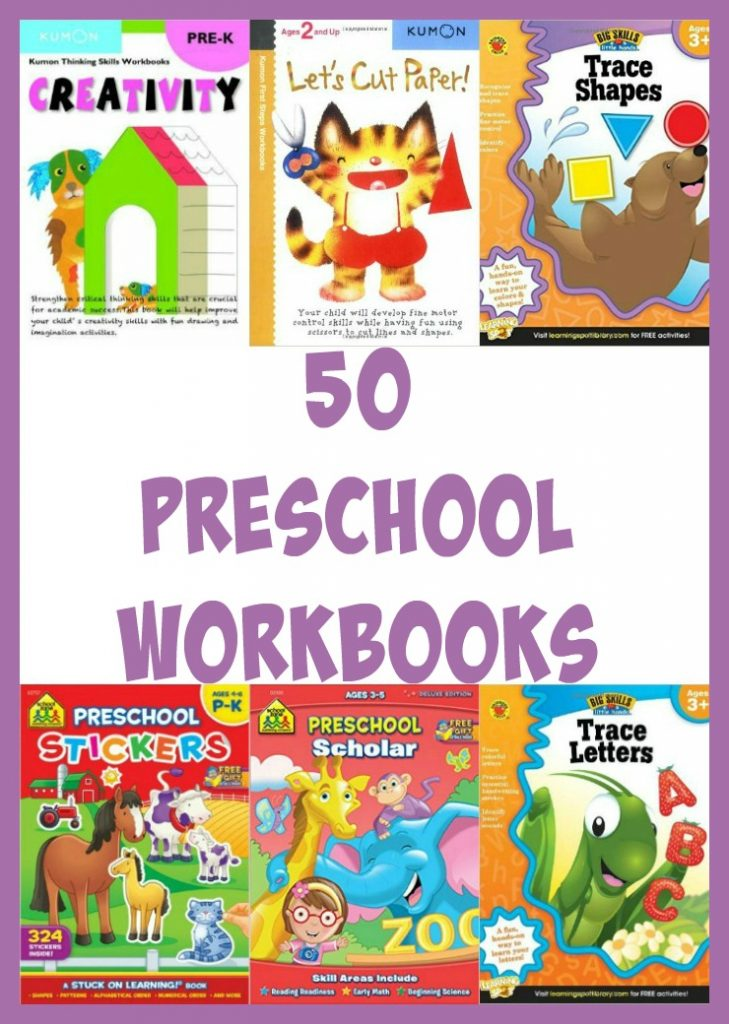 50 Preschool Workbooks: Find the best workbooks here!