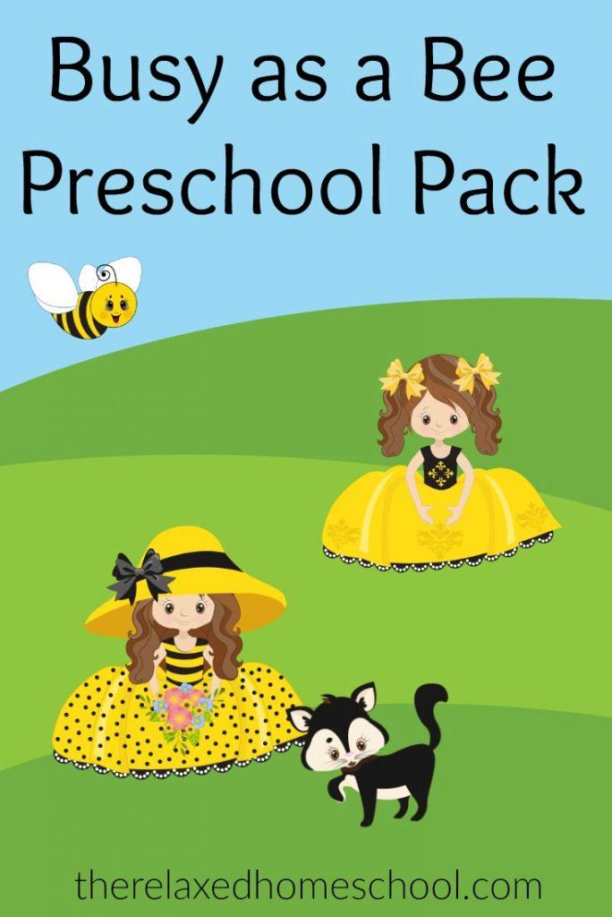 FREE Bumble Bee Preschool Activities for preschoolers!