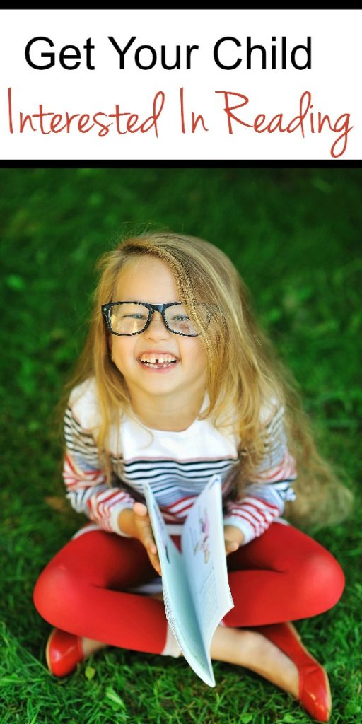 How to Get Your Child Interested in Reading. Reading tips for kids!