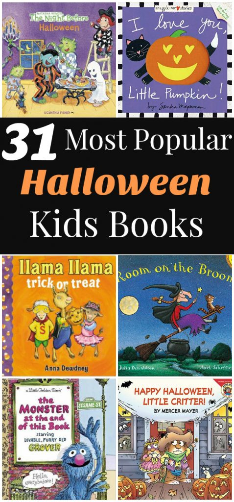 Halloween Books For Kids - The Relaxed Homeschool
