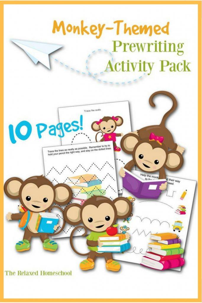 FREE Pre-writing activity pack! Great for preschoolers and kids in Kindergarten!
