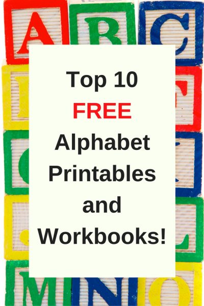 Free Printable Preschool Alphabet Worksheets The Relaxed Homeschool