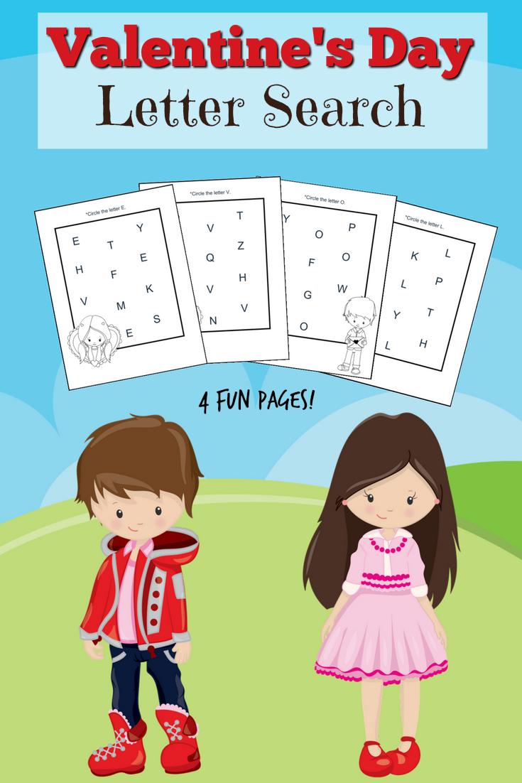FREE Valentine\'s Day Letter Search - The Relaxed Homeschool