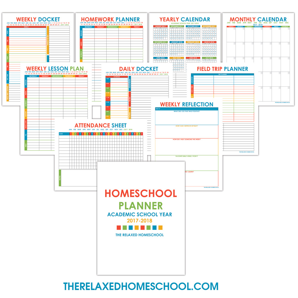 free homeschool planner that will keep your homeschool