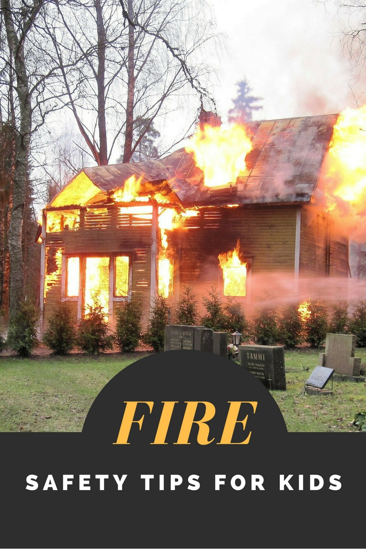 Fire safety tips for kids the relaxed homeschool for Fire safety house