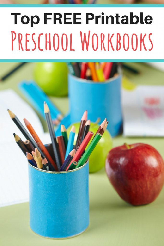 Looking for FREE Preschool Workbooks? Check out this list!