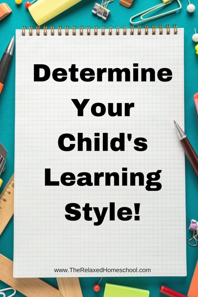 There are three different learning styles. Do you know how your child learns best?