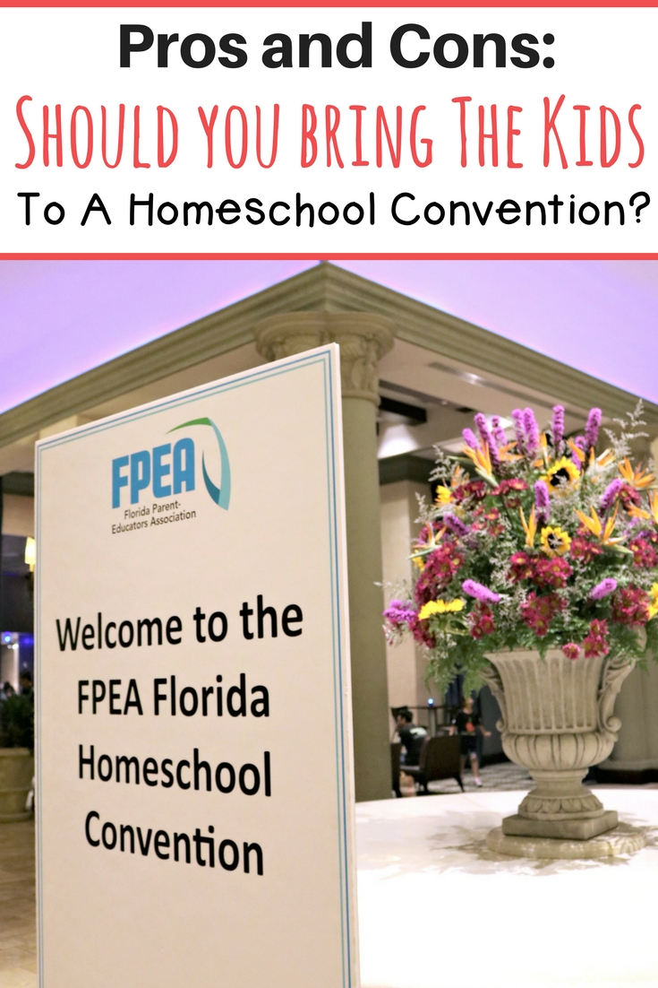 Ever wonder if you should bring your children to that homeschool convention? Find out here!