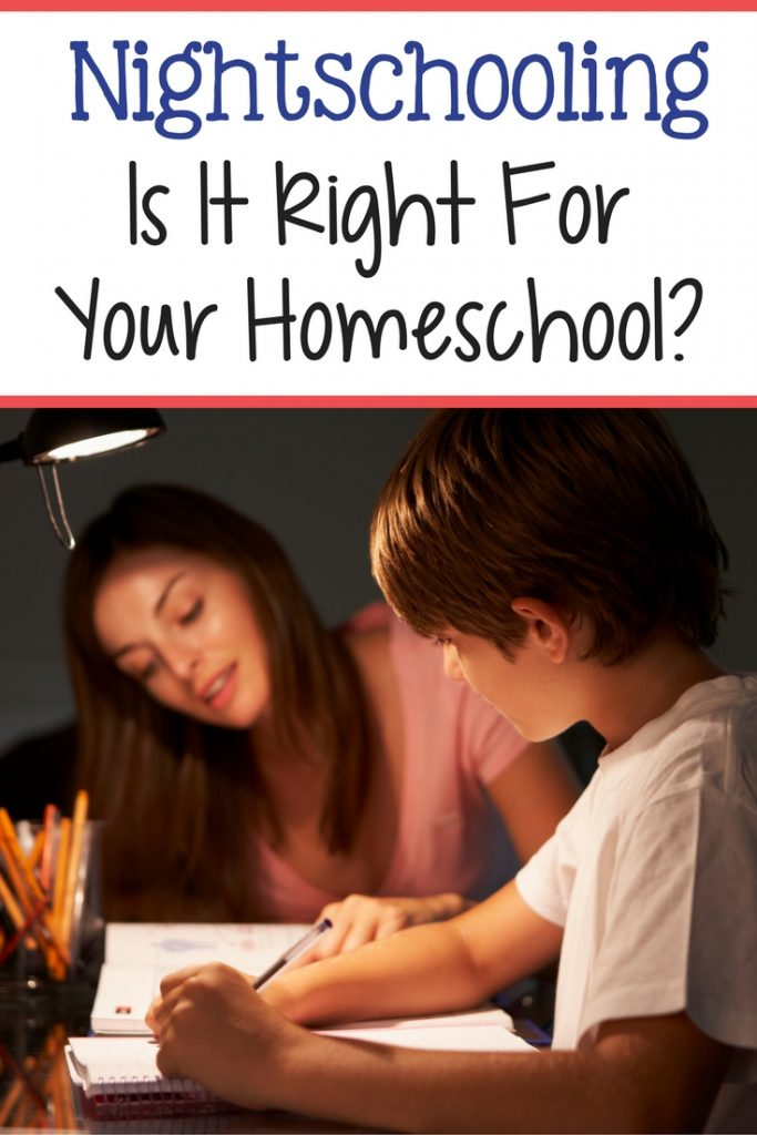 Is nightschooling a right fit for your homeshcooling family? Stop struggling to meet other peoples expectations and start doing what works for your family!
