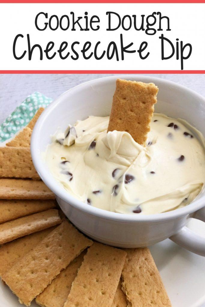 Cookie Dough Cheesecake Dip Recipe