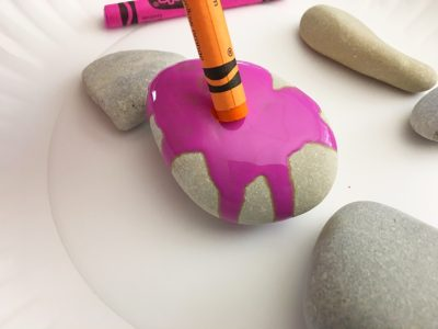 hot rocks painting craft for kids