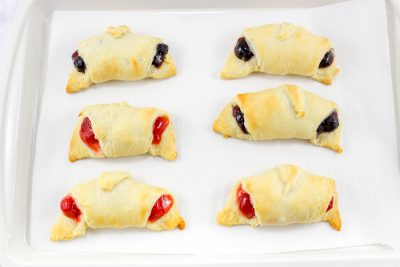crescent rolls with filling