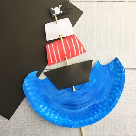 Kids Pirate Ship Craft f