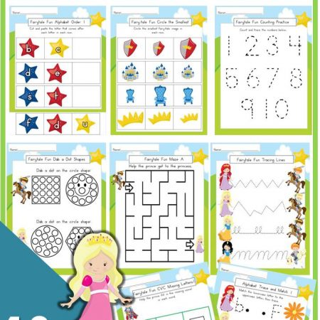 Preschool Fairy Tale Printable Pack