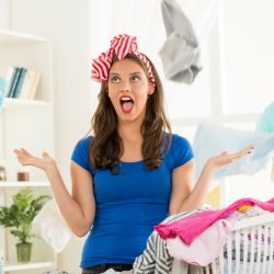 Where to Begin When You're Overwhelmed by a Messy House f