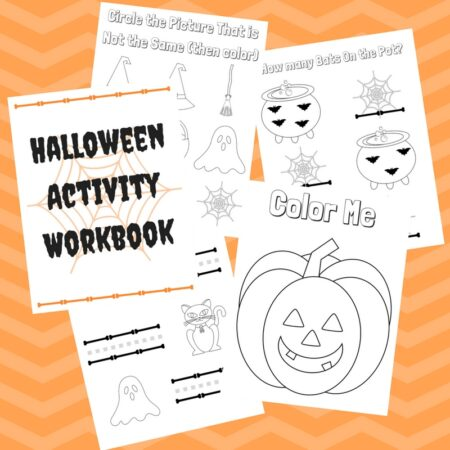 Halloween Activity Workbook f