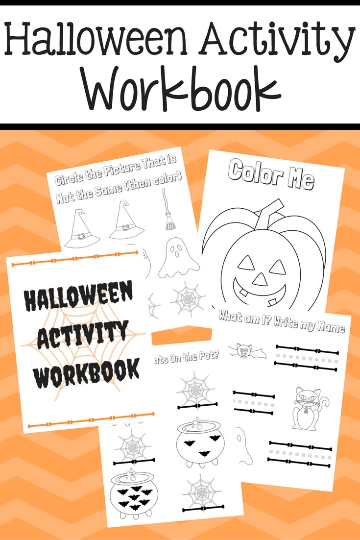 Halloween Activity Workbook