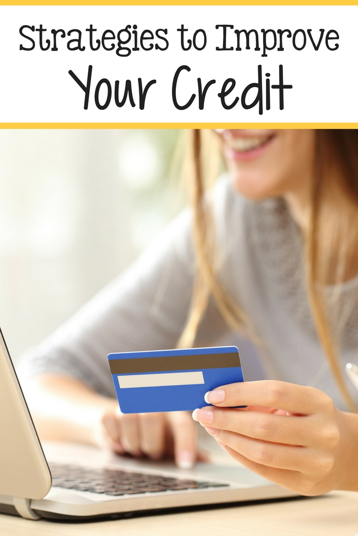 Strategies to Improve Your Credit