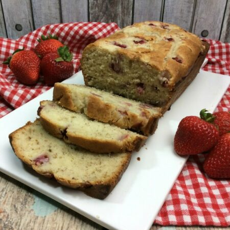 Strawberry Cream Cheese Bread f