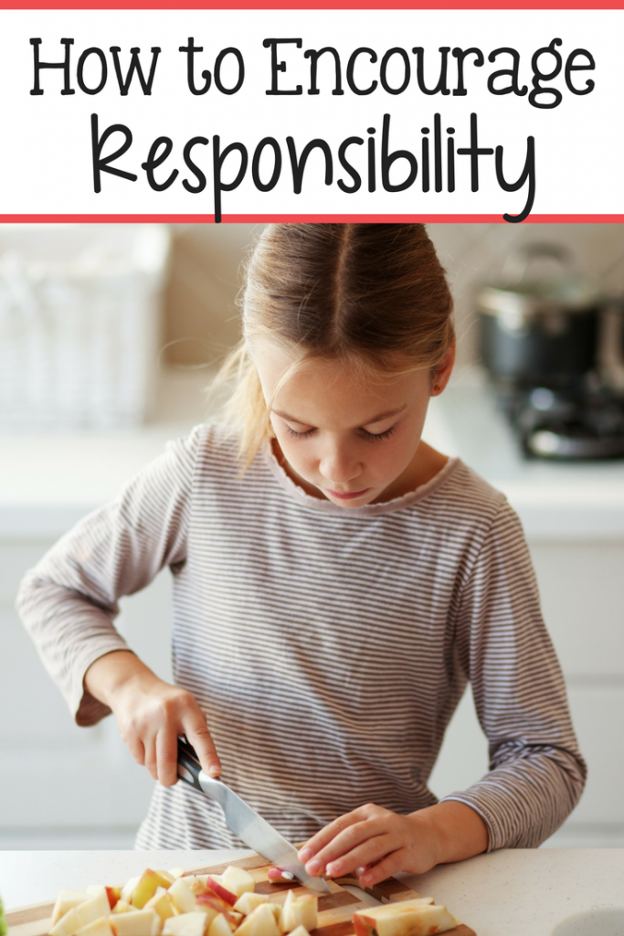 Here are some really great ways to encourage responsibility in kids!
